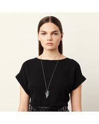 COACH - Multicolor Long Western Charm Mix Necklace - Lyst