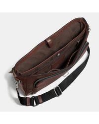COACH | Brown Metropolitan Briefcase In Sport Calf Leather for Men | Lyst