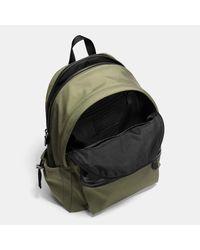 COACH | Black Metropolitan Rucksack In Pebble Leather | Lyst