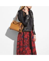 COACH - Brown Rogue 25 In Mixed Leathers - Lyst