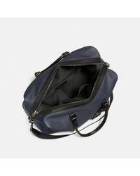 COACH - Black Explorer Bag - Lyst