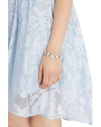 Coast - Metallic Emily Stone Bracelet - Lyst
