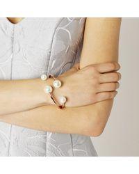 Coast | Metallic Bilbao Pearl Bracelet | Lyst