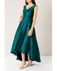 Coast   Blue Alloway Jacquard Dress   Lyst