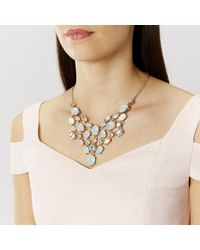 Coast | Metallic Pego Statement Necklace | Lyst