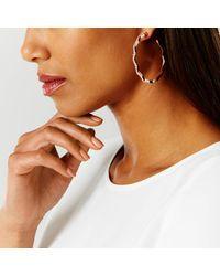 Coast - Multicolor Leda Hoop Diamante Earrings - Lyst