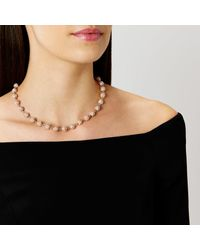 Coast - Metallic Elva Sparkle Ball Necklace - Lyst