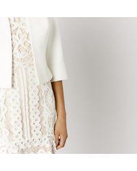 Coast - White Kemara Jacket - Lyst