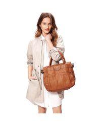 Liebeskind - Brown Glory Vintage Leather Tote Bag - Lyst