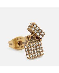 Marc Jacobs - Metallic Women's Strass Lighter Studs - Lyst