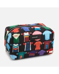 Paul Smith - Black Men's Cycle Jersey Print Wash Bag for Men - Lyst