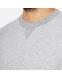 Derek Rose - Gray Men's Devon 1 Sweatshirt for Men - Lyst