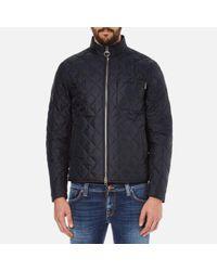Barbour   Blue Men's Axle Quilt Jacket for Men   Lyst