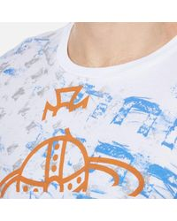 Vivienne Westwood - White Men's Manhole Rubbings Tshirt for Men - Lyst