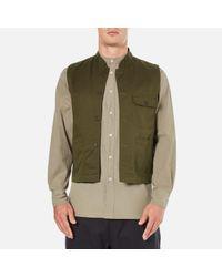 Universal Works | Green Men's Battle Military Waistcoat for Men | Lyst