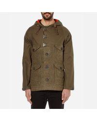 Nigel Cabourn   Green Men's Hybrid Finish Harris Tweed Cameraman Converse Jacket for Men   Lyst