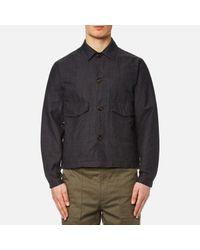 Universal Works   Gray Men's Watchman Jacket for Men   Lyst