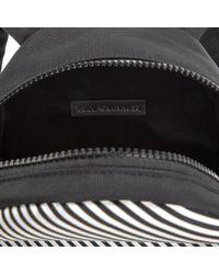 Lulu Guinness - Black Women's Stripe Kooky Cat Small Backpack - Lyst