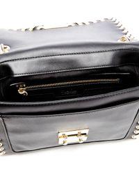 Karl Lagerfeld - Black Women's K/whipstitch Handbag - Lyst
