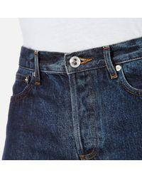 A.P.C. - Blue Men's Petit Standard Slim Leg Denim Jeans for Men - Lyst