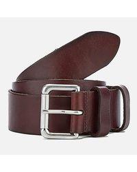 Polo Ralph Lauren - Brown Men's Leather Belt for Men - Lyst