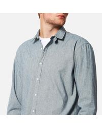 Oliver Spencer - Blue Men's Clerkenwell Tab Shirt for Men - Lyst