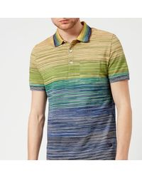 Missoni - Multicolor Men's Multi Stripe Classic Polo Shirt for Men - Lyst