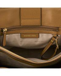 MICHAEL Michael Kors | Brown Women's Sylvie Large Satchel | Lyst