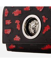Versus  - Multicolor Women's Lion Leopard Sequin Small Chain Clutch Bag - Lyst