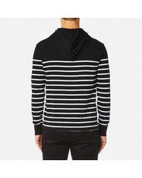 Polo Ralph Lauren | Black Men's Hooded Tshirt Stripe Hoody for Men | Lyst