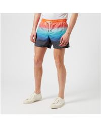 Missoni - Red Men's Swim Shorts for Men - Lyst