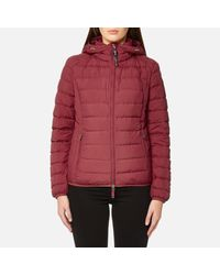 Parajumpers. Women's Red Juliet Super Lightweight Coat