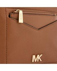MICHAEL Michael Kors Brown Jessa Small Convertible Backpack