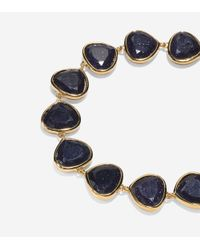 Cole Haan - Blue Garden At Midnight Stone Line Bracelet - Lyst