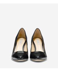 Cole Haan - Black Bethany Pump (85mm) - Almond Toe - Lyst
