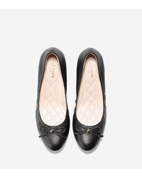 Cole Haan - Black Tali Grand Lace Wedge (40mm) - Lyst