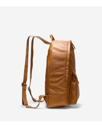 Cole Haan - Brown Wayland Backpack for Men - Lyst