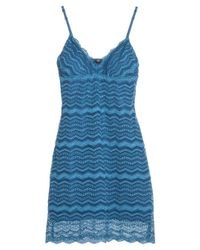 Cosabella - Blue Ceylon Slip Dress - Lyst
