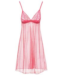 Cosabella - Pink Dream Catcher Babydoll - Lyst