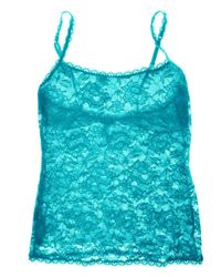 Cosabella | Blue Never Say Never Sassie™ Lace Camisole | Lyst