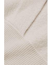 COS Multicolor Boiled Wool Hoody