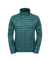 The North Face | Green Thermoball Mens Full Zip Jacket for Men | Lyst