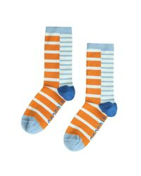 Seasalt - Orange Womens Sailor Socks (ss17) - Lyst