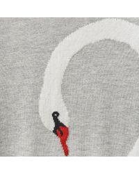 Joules - Gray Miranda Intarsia Womens Jumper (x) - Lyst