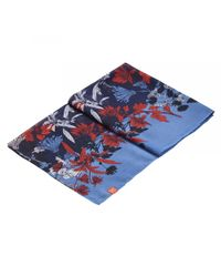 Joules - Blue Wensley Longline Printed Womens Scarf (x) - Lyst