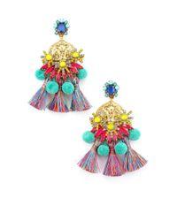 Elizabeth Cole - Multicolor Zwena Earrings - Lyst