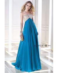 Alyce Paris   Blue B'dazzle - Dress In Teal   Lyst