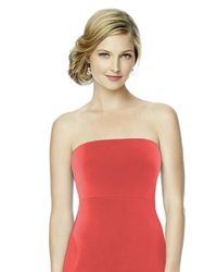 Dessy Collection - Red Mj-band Bandeau In Firecracker - Lyst