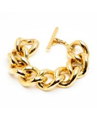 Ben-Amun | Metallic Large Gold Chain Link Bracelet | Lyst