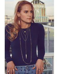 Heather Hawkins - Metallic Radiate Gemstone Ring - Rainbow Moonstone - Lyst
